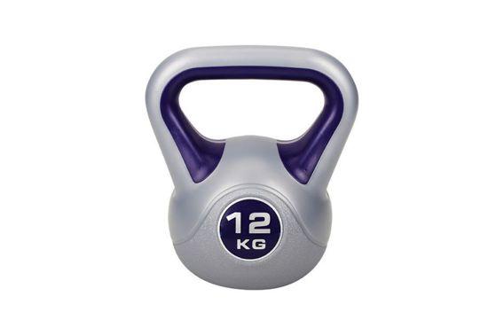 Hantla Kettlebell winylowa 12kg Hop-Sport
