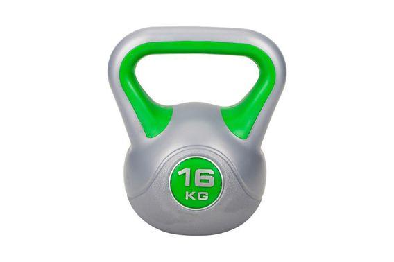 Hantla Kettlebell winylowa 16kg Hop-Sport