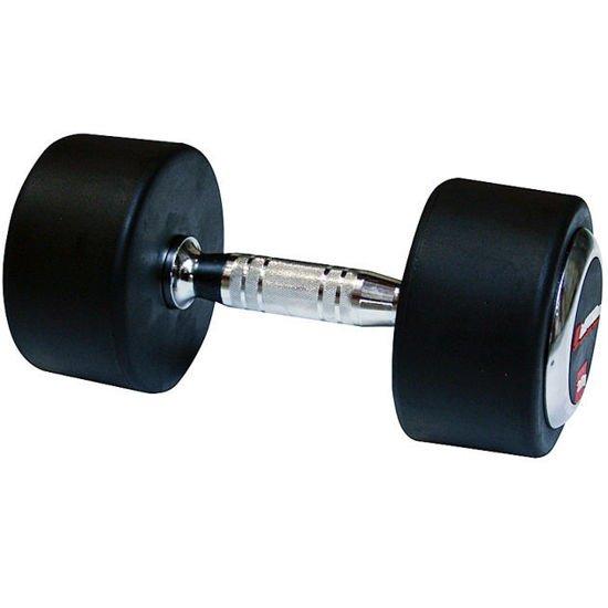 Hantla stała gumowana Insportline 40 kg