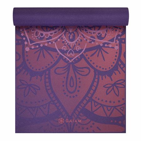 Mata do jogi Premium Athenian Rose Gaiam 173x61x0,6cm