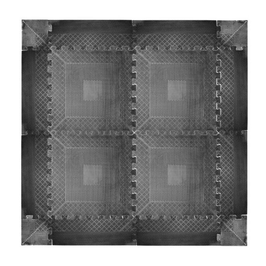 Ochronna gumowa mata podłogowa puzzle inSPORTline 0,6cm