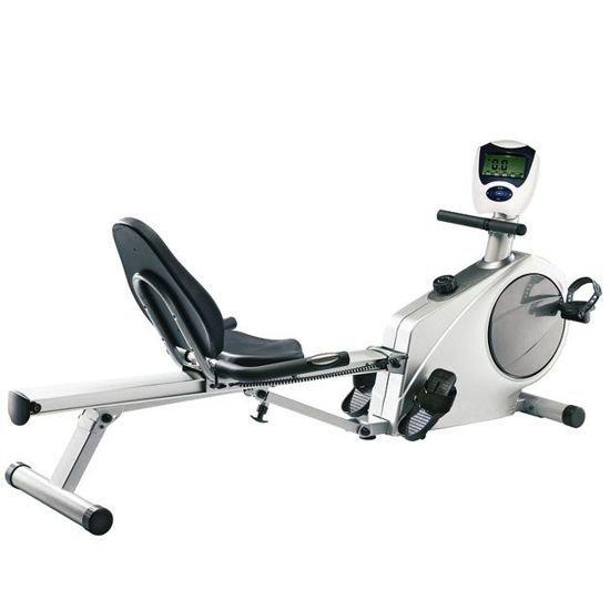Wioślarz magnetyczny Insportline SEG-6601 wioślarz + rower poziomy